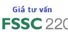 giá tư vấn FSSC 22000